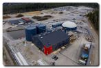 Jari Leppä, Minister of Agriculture and Forestry opened Gasum's new biogas plant in Lohja